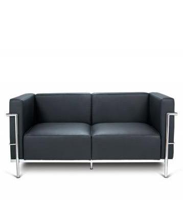 Groisman muebles de oficinas cl sicos modernos lc3 2 for Sillones de dos cuerpos modernos