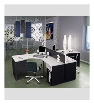 Escritorios dobles escritorios dobles escritorio largo for Escritorios dobles juveniles