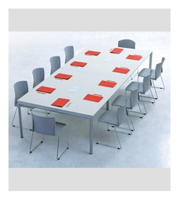 Groisman muebles de oficinas muebles operativos symphony mesa de trabajo - Mesa de trabajo metalica ...
