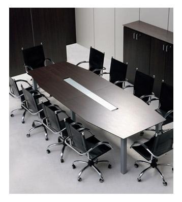 Groisman muebles de oficinas muebles gerencial for Pasacables mesa oficina