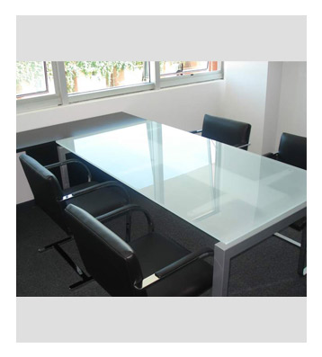 Groisman muebles de oficinas muebles gerencial zeus vidrio - Muebles de vidrio ...