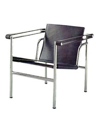 Groisman muebles de oficinas espera y recepci n lc1 le for Silla le corbusier
