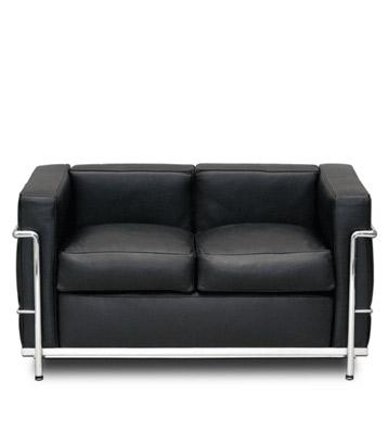 Groisman muebles de oficinas espera y recepcion lc2 for Sillones de dos cuerpos modernos