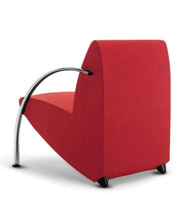 Groisman muebles de oficinas espera y recepcion penny 1 for Sillones de dos cuerpos modernos