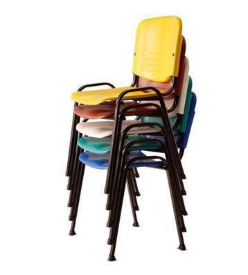 Groisman muebles de oficinas sillas y sillones for Sillas de comedor apilables